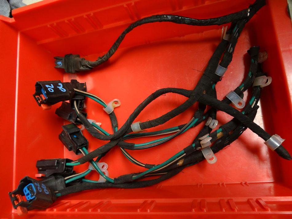 2002-06 Jeep Wrangler TJ LJ Blower Motor Pigtail Image