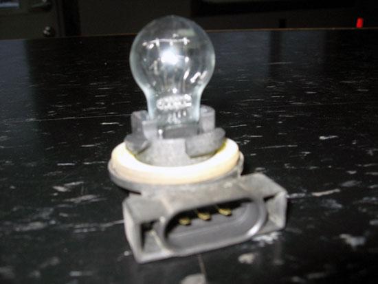 1998-06 Jeep Wrangler TJ Front Turn Signal Bulb Socket Image