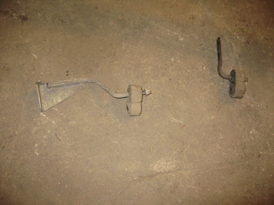 Jeep Wrangler TJ Exhaust Hanger With Rubber 2 Styles Available Image