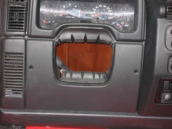 Jeep Wrangler TJ LJ Knee Bolster Image