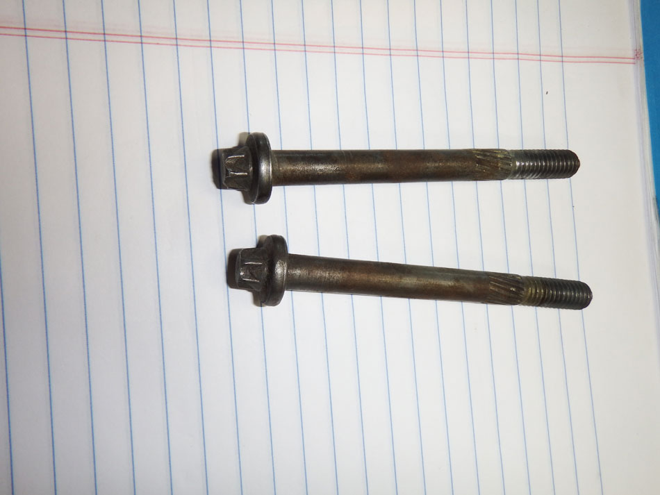 Jeep YJ TJ XJ MJ 2.5 Starter Bolts Pair Image