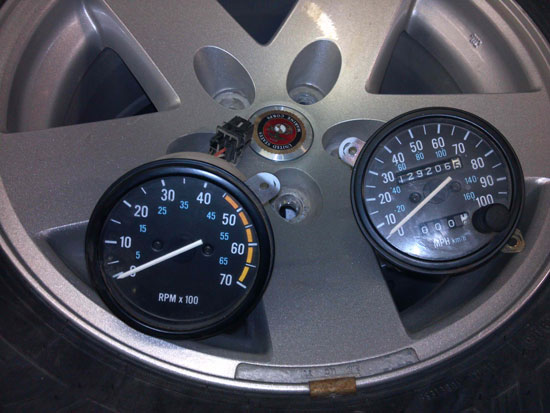 1981-91 Jeep Wrangler YJ Speedometer or Tachometers Image