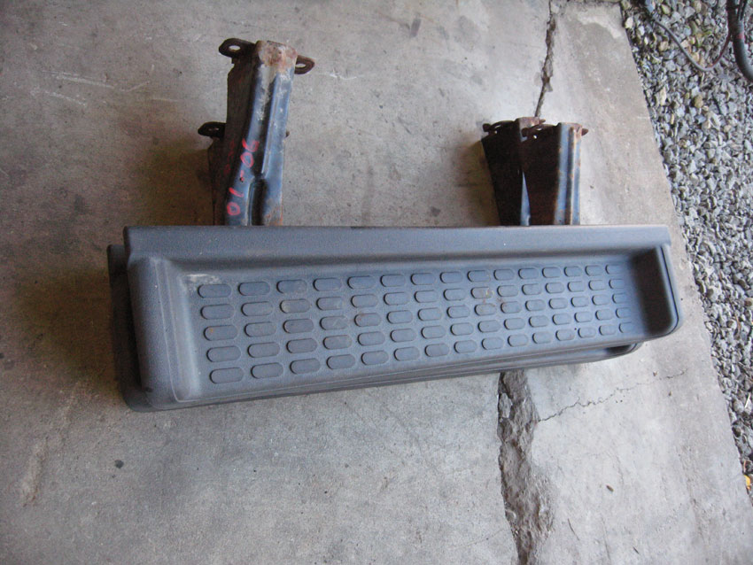 2001-2006 Jeep Wrangler TJ Factory Side Steps Image