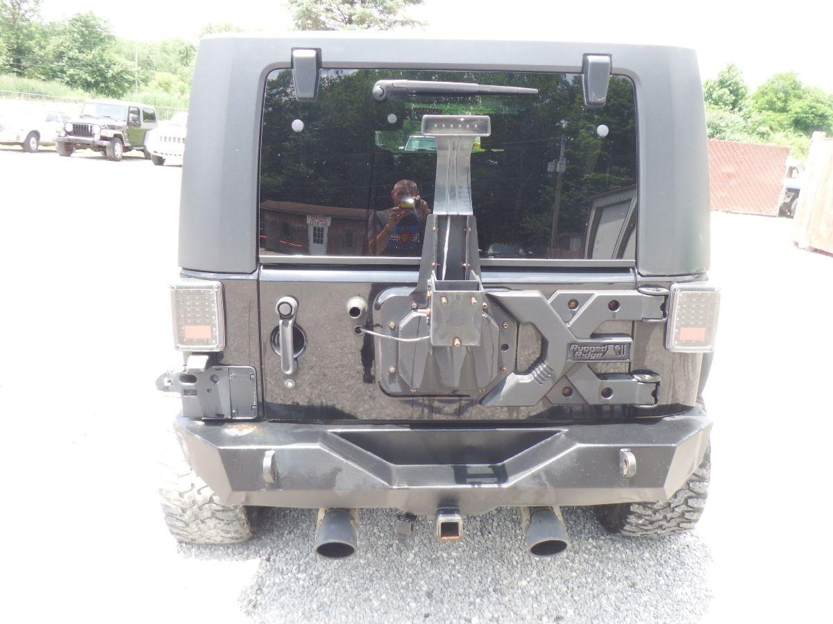 2007 Jeep Wrangler Unlimited Rubicon 4×4