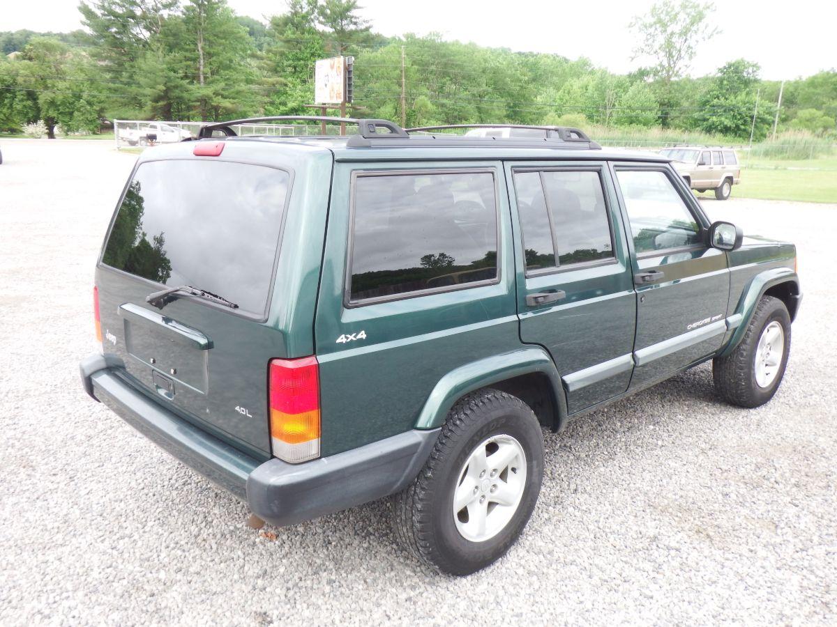 1999 Jeep Cherokee Sport 4×4
