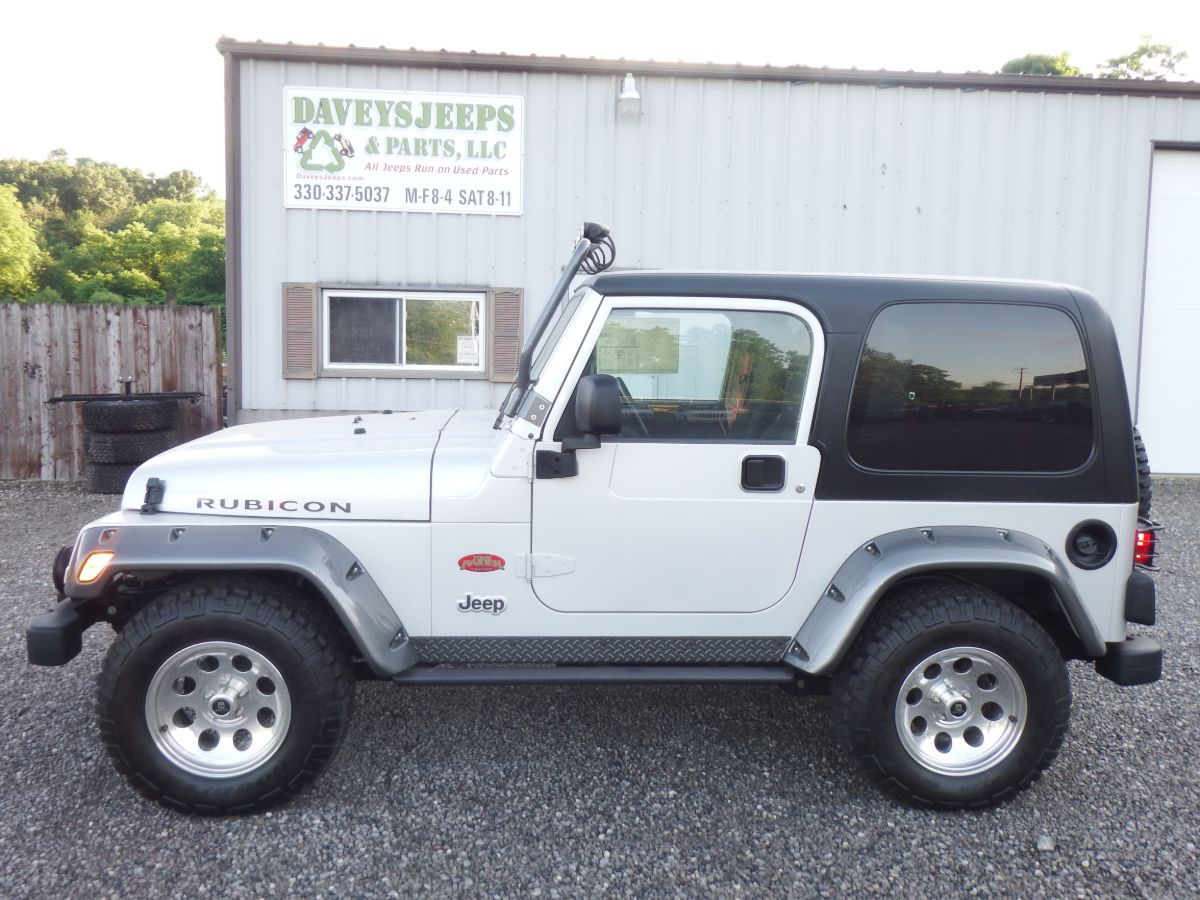 2003 Jeep Wrangler Rubicon Tomb Raider 4×4