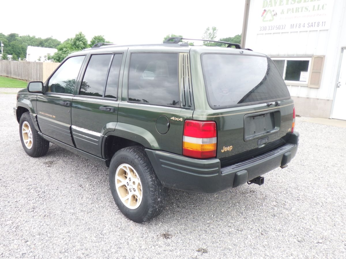 1996 Jeep Grand Cherokee Limited 4×4
