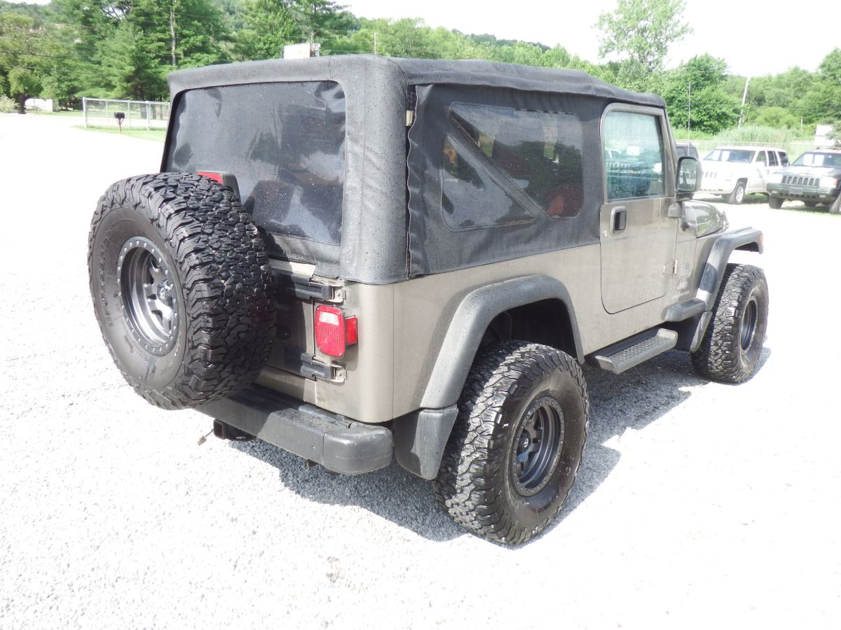 2004 Jeep Wrangler Unlimited 4×4