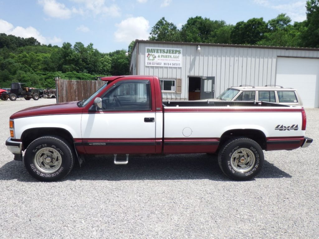 89 chevy truck k2500