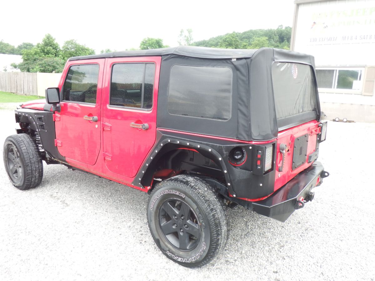 2008 Jeep Wrangler Unlimited Sport 4×4
