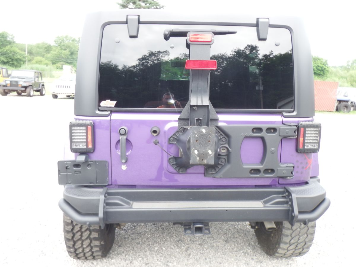 2016 Jeep Wrangler Unlimited Sahara Backcountry 4×4