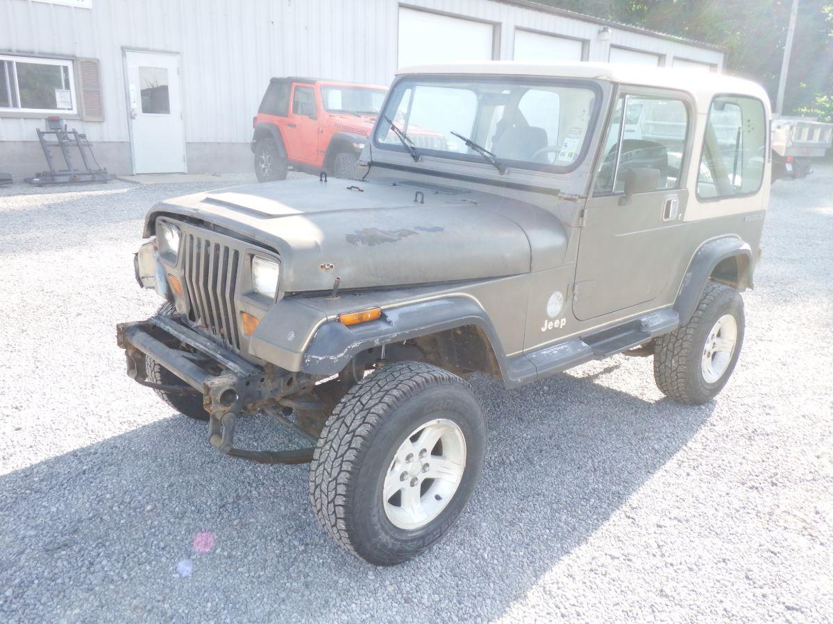 1989 Jeep Wrangler Sahara 4×4