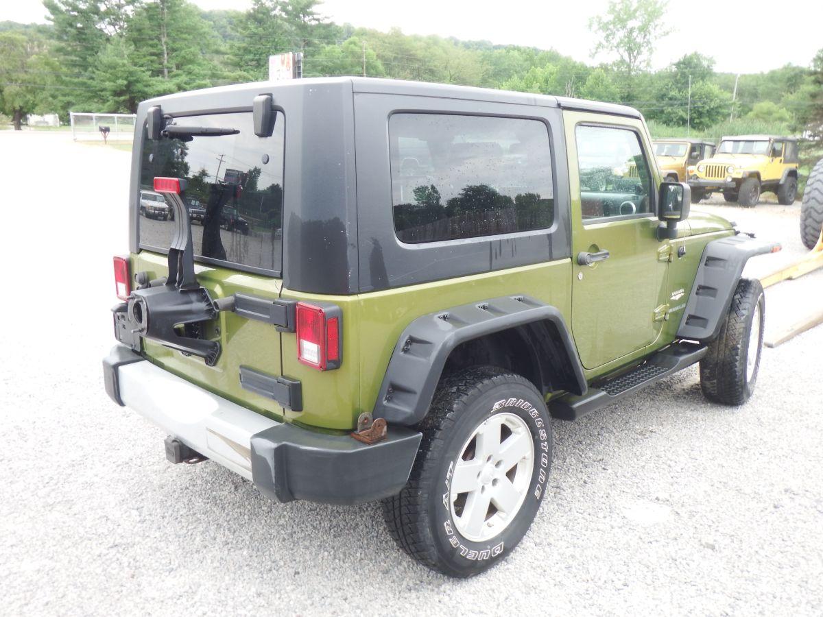 2008 Jeep Wrangler Sahara 4×4