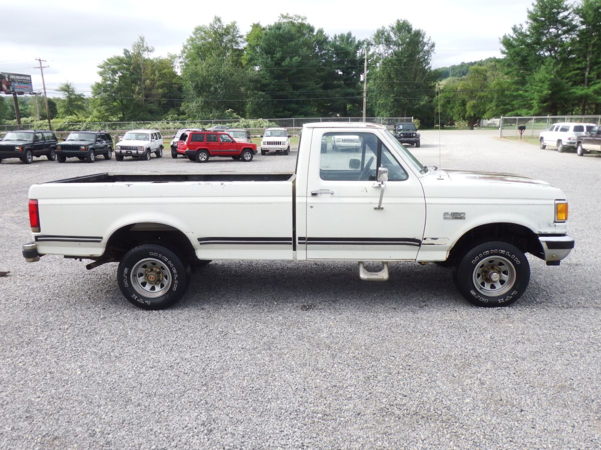 1989 Ford F-150 4×4