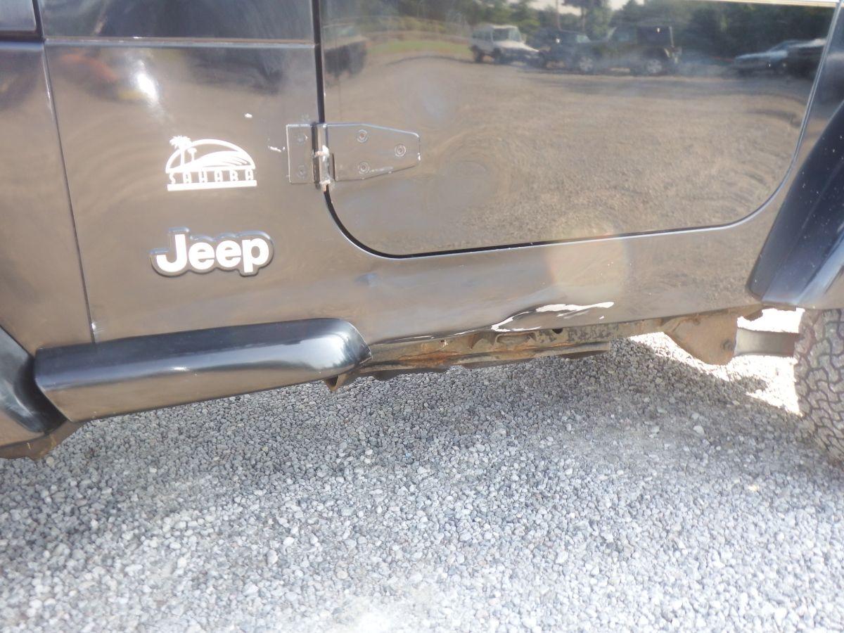 2003 Jeep Wrangler Sahara 4×4
