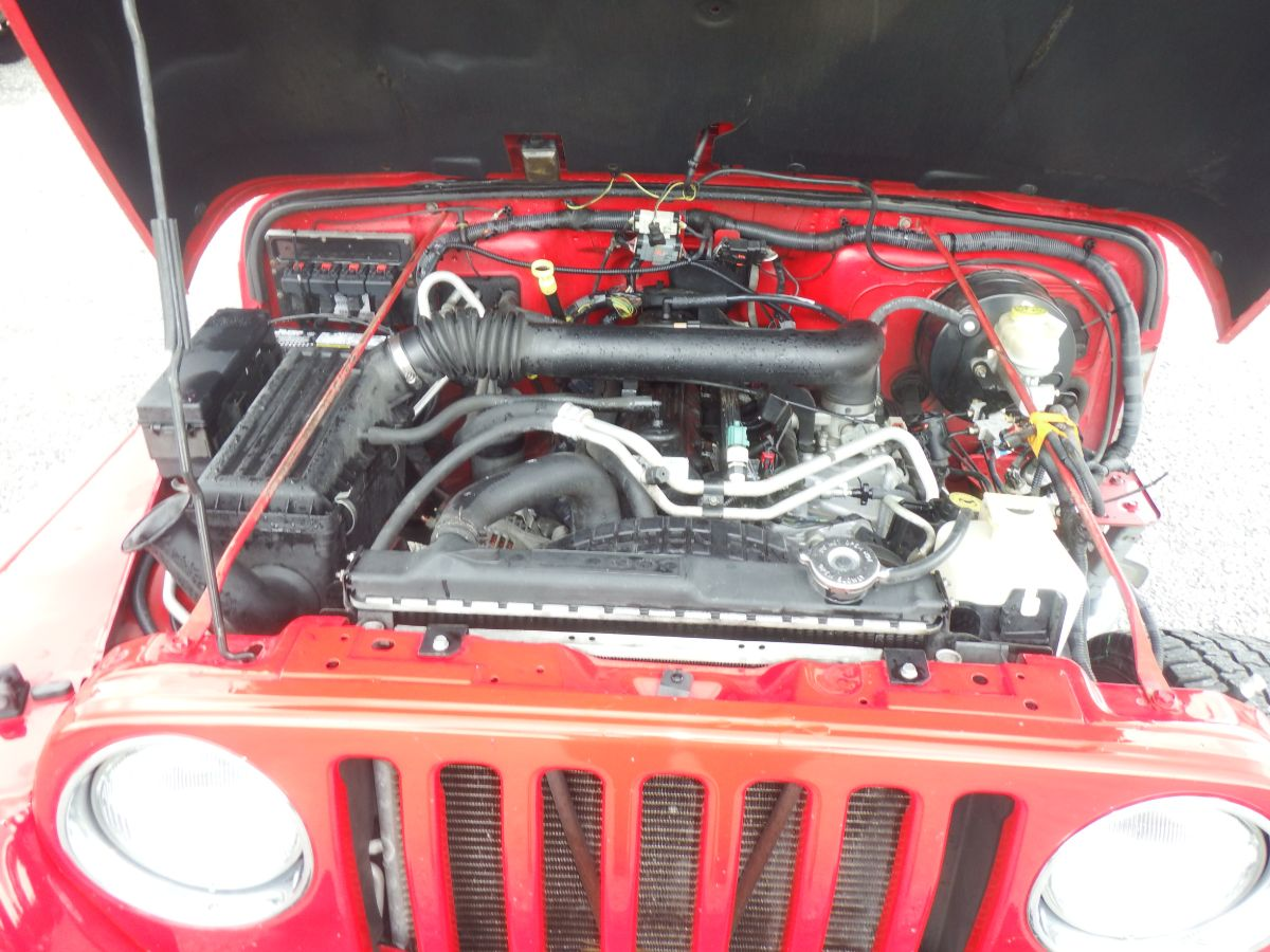 2005 Jeep Wrangler Unlimited 4×4
