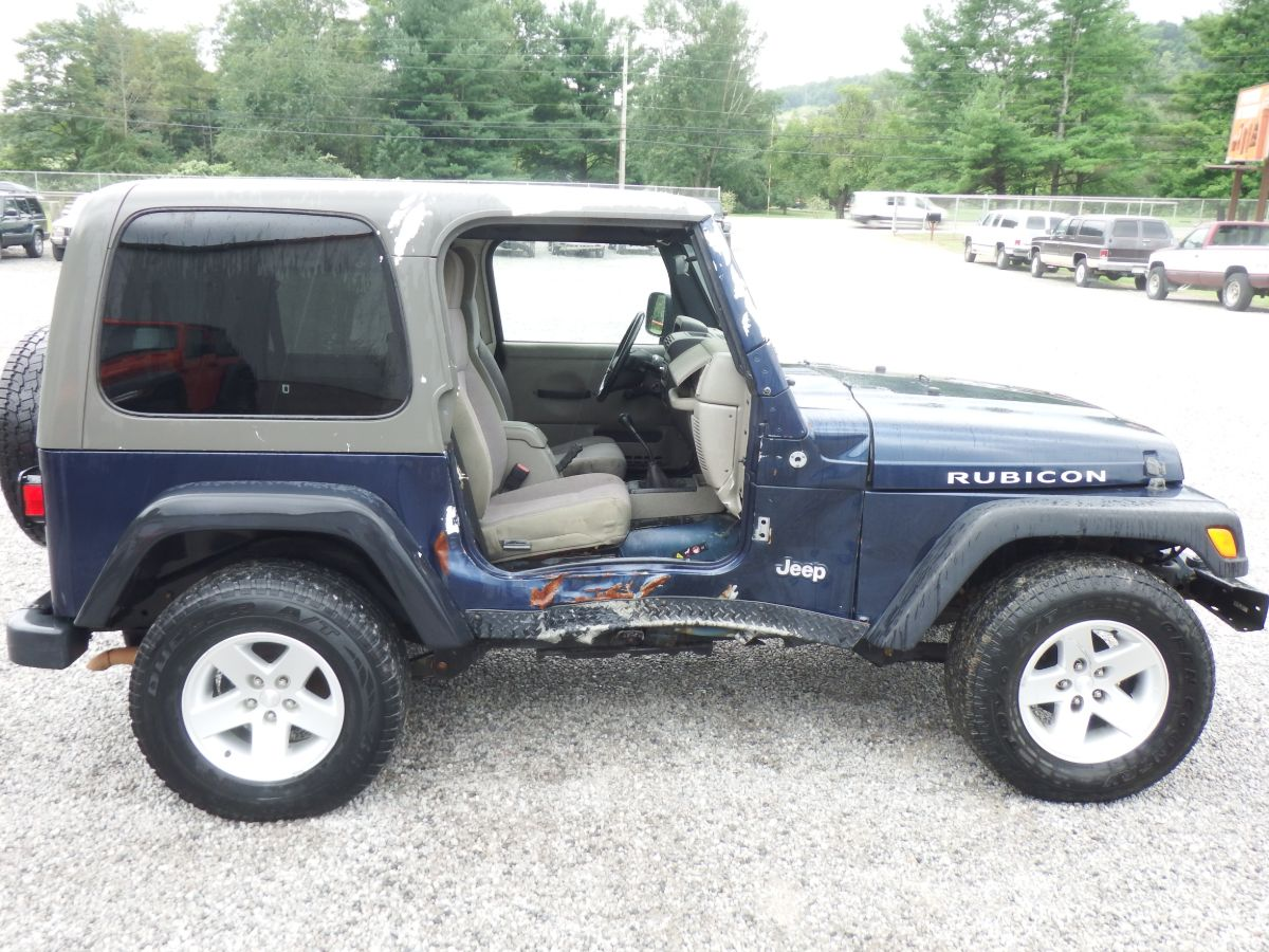 2005 Jeep Wrangler Rubicon 4×4
