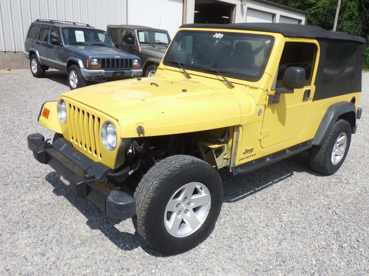 2005 Jeep Wrangler Rubicon Unlimited 4×4