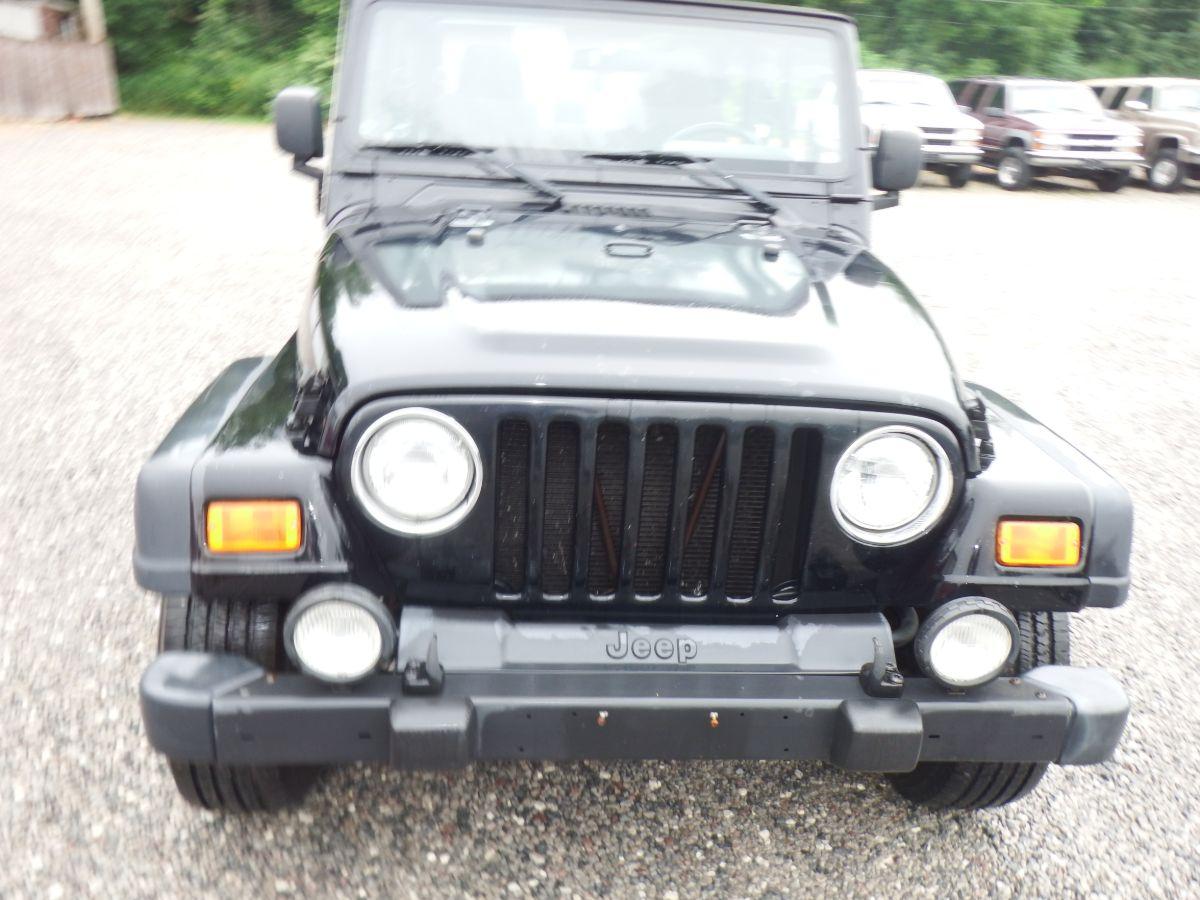 2004 Jeep Wrangler Rubicon 4×4