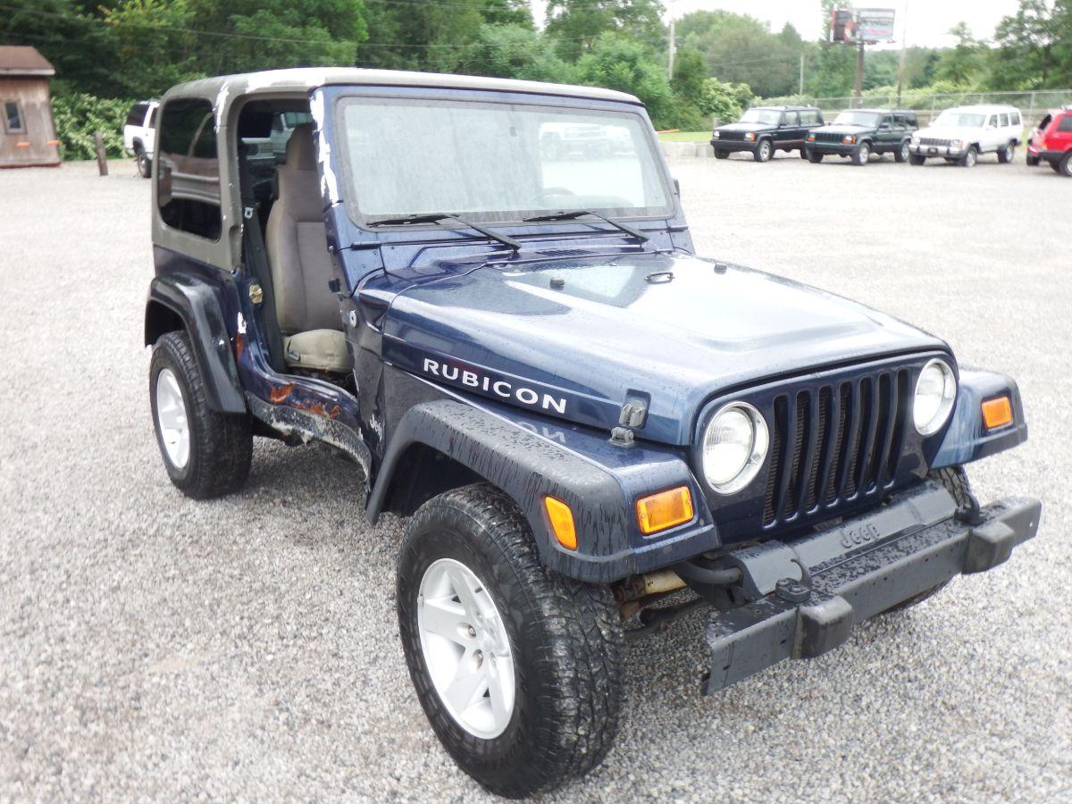 2005 Jeep Wrangler Rubicon 4×4