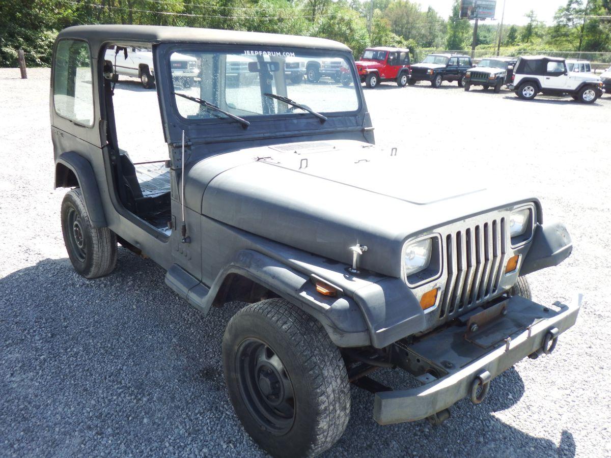 1987 Jeep Wrangler 4×4