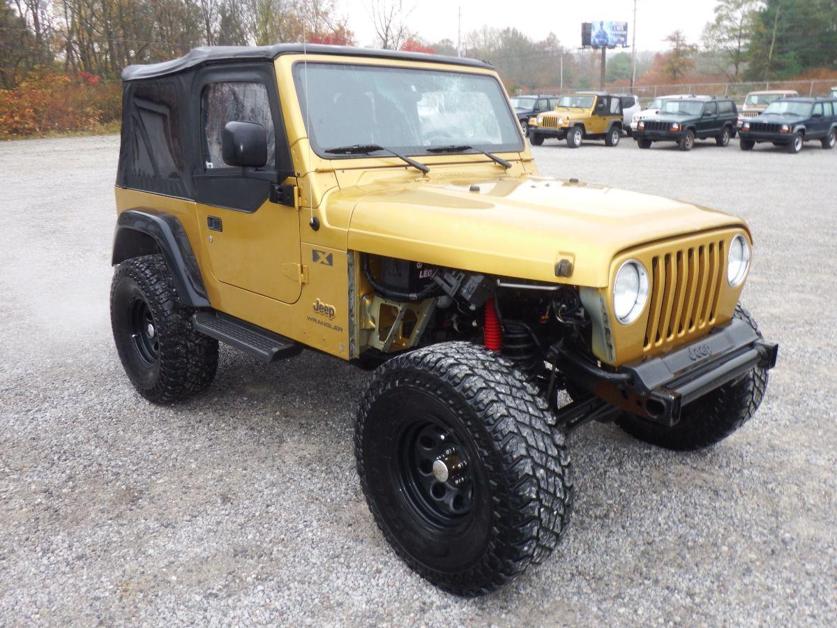 2003 Jeep Wrangler X 4×4