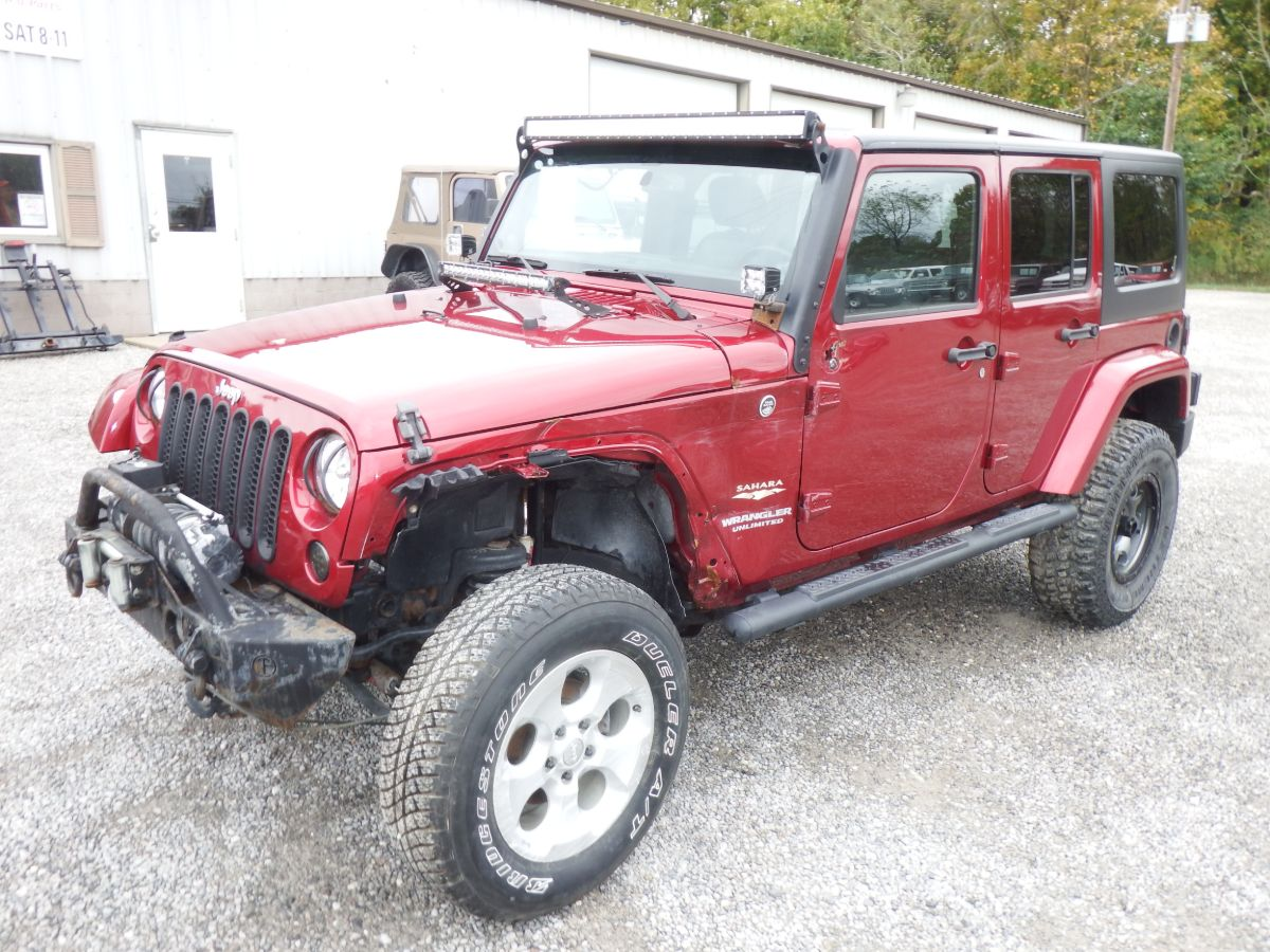 2013 Jeep Wrangler Unlimited Sahara 4×4
