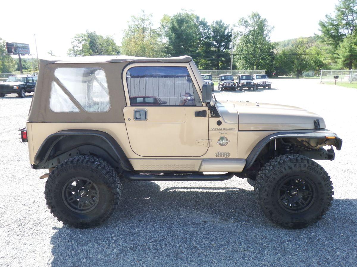 1999 Jeep Wrangler Sahara 4×4