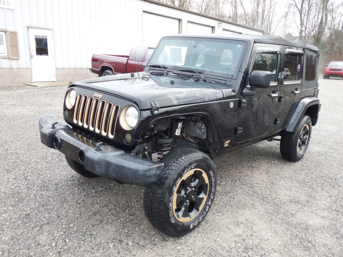 2014 Jeep Wrangler Unlimited Sahara Dragon Edition 4×4
