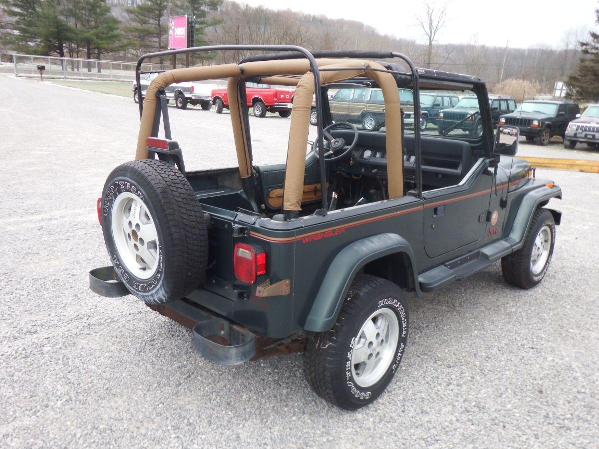 1994 Jeep Wrangler Sahara 4×4 Jurassic Park Jeep