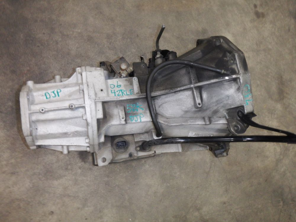 03-06 TJ LJ 42RLE Auto Transmission with Convertor Image