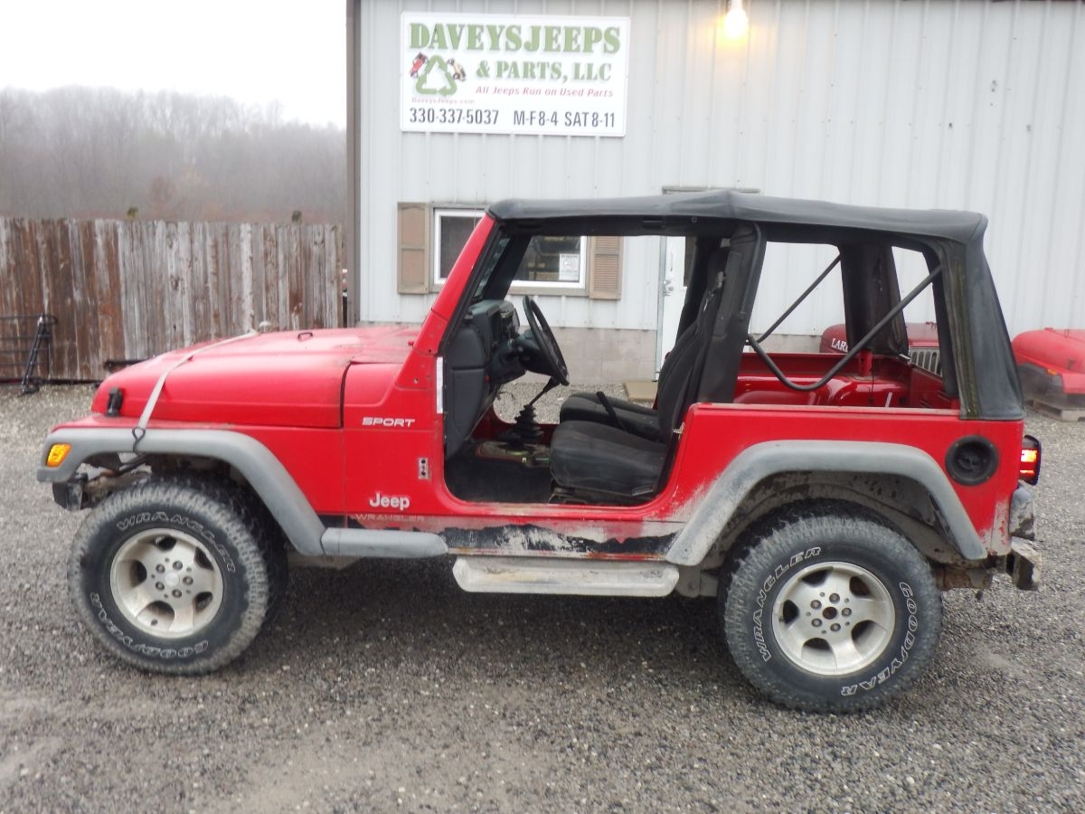 2003 Jeep Wrangler TJ 4.0 Donor Jeep Image
