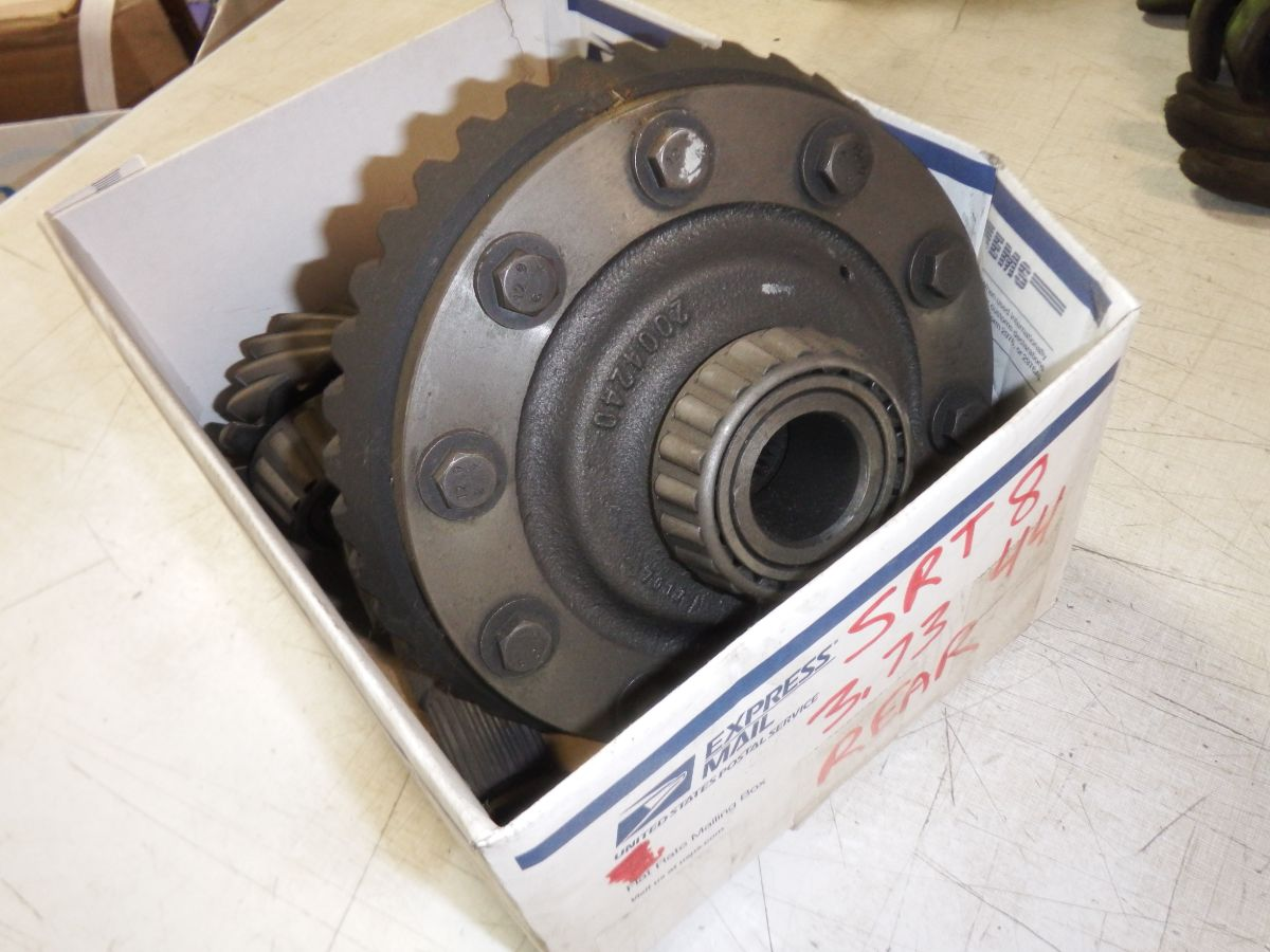 Dana 44 07 SRT8 Grand Cherokee Ring Pinion Gears Carrier Spiders Image