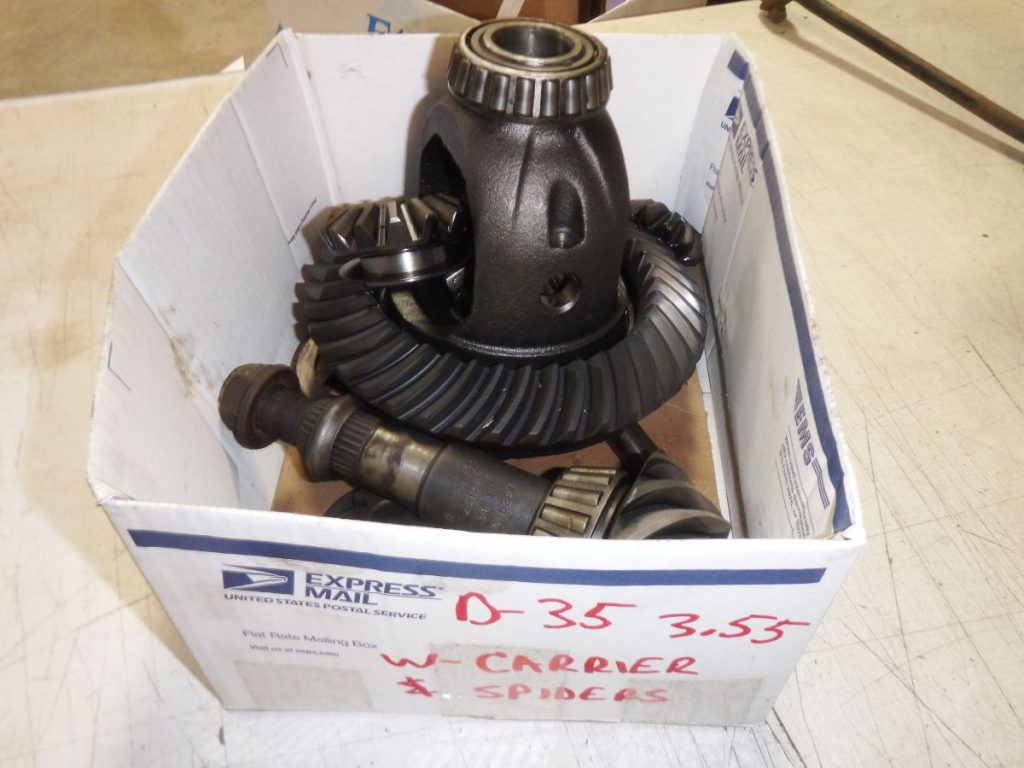 Dana 35 3.55 Ring Pinion Gears Carrier Spiders Image