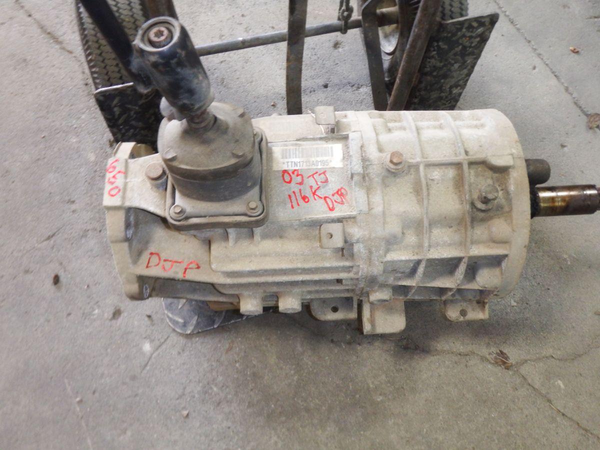 03 Jeep Wrangler TJ NV3550 5 Spd. Transmission 116k Image