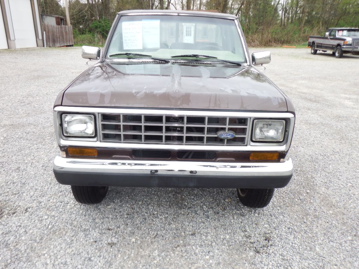 1987 Ford Ranger XLT 4×4 7 Foot Bed