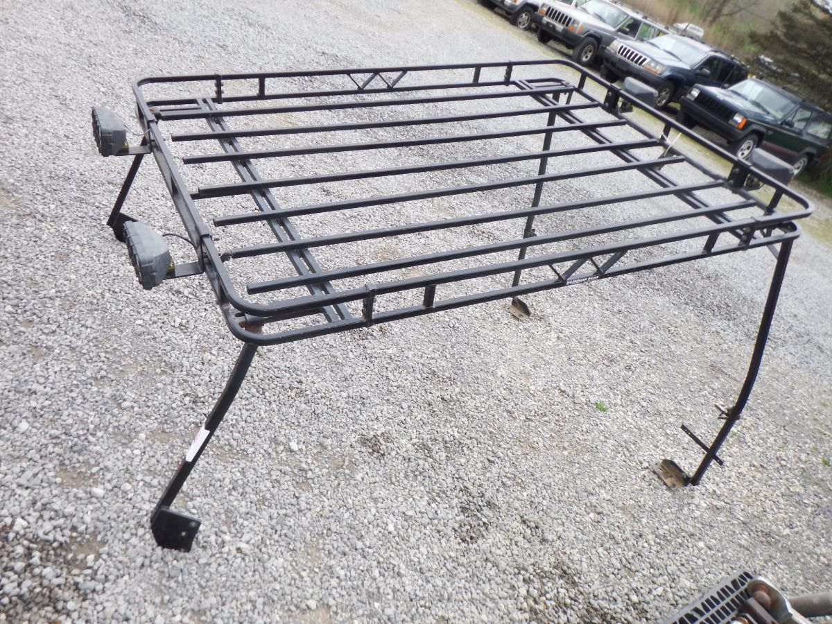 TJ Garvin Wilderness Expedition Rack Nice Heavy Duty Image