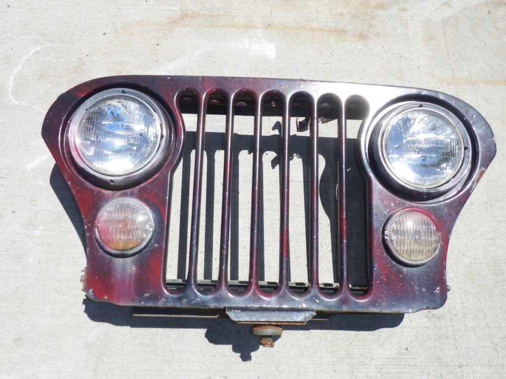 1977 Jeep CJ Wall Hanger Grille Image