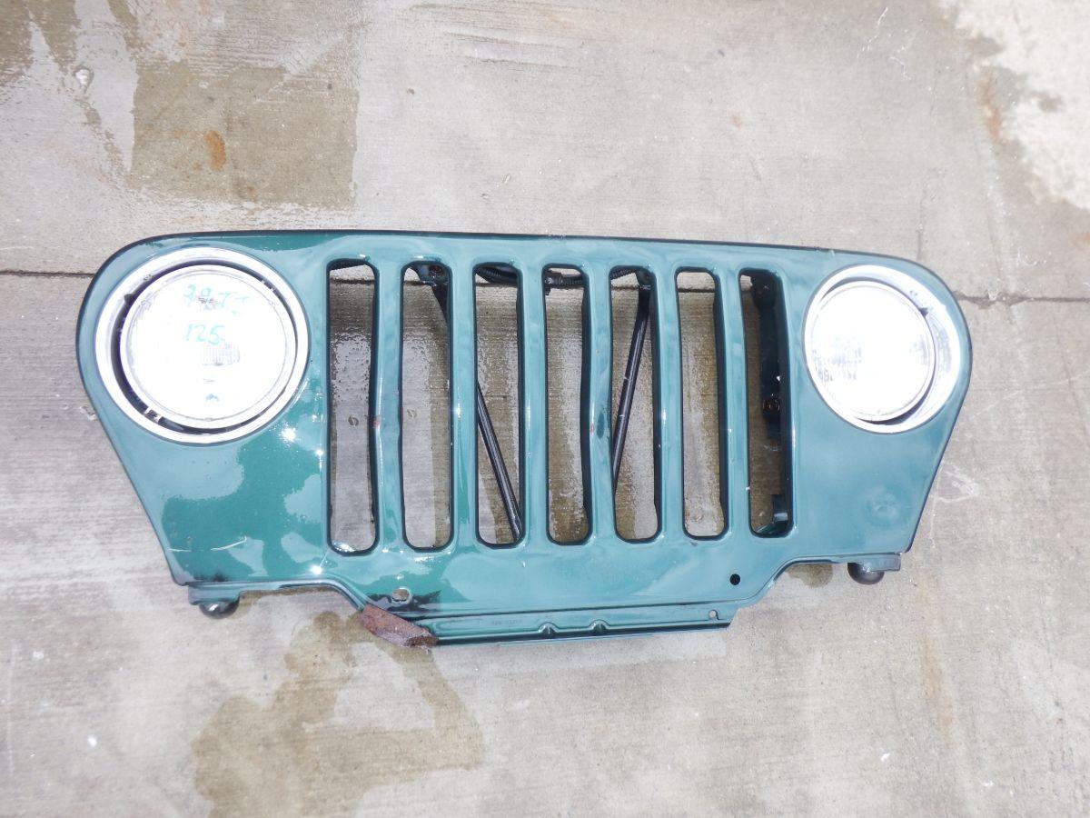 97 1/2-06 Jeep Wrangler TJ LJ PG8 Green Grille Image
