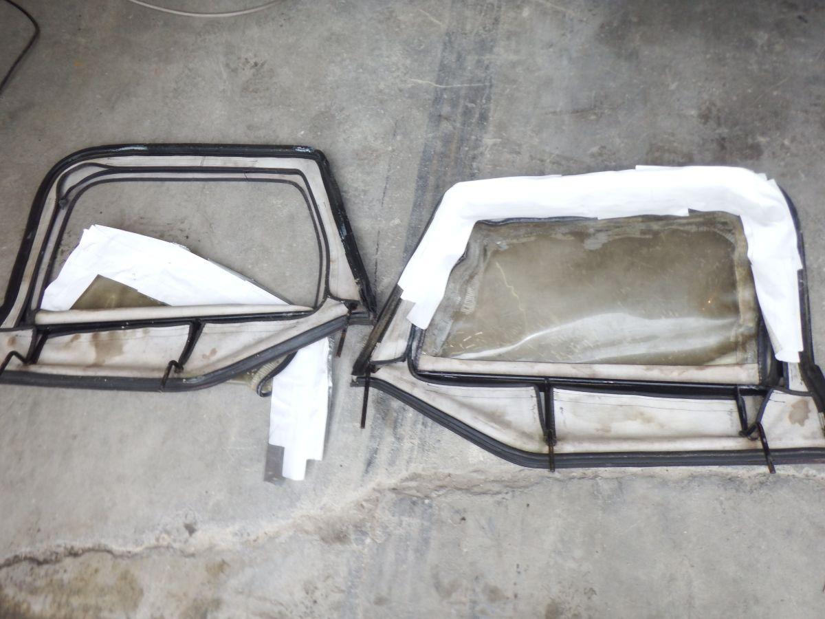 Jeep Wrangler TJ LJ Upper 1/2 Door Frames Image