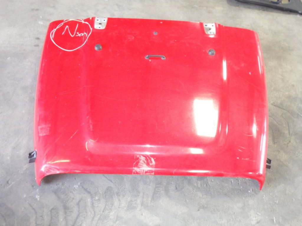97 1/2-06 Jeep Wrangler Red Hood Image