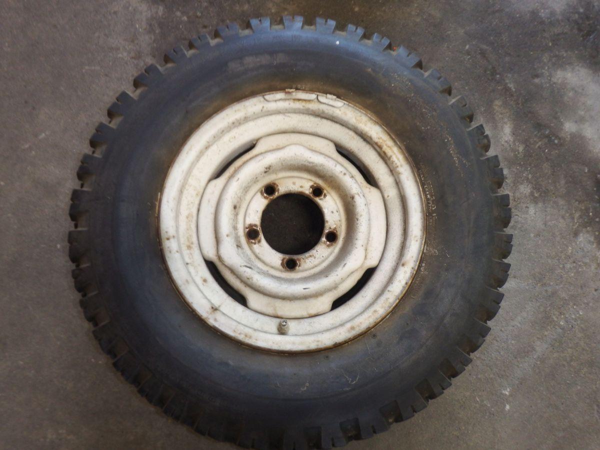 1 15 Inch Jeep CJ Original Spare with Goodyear Suburbanite Tire Image