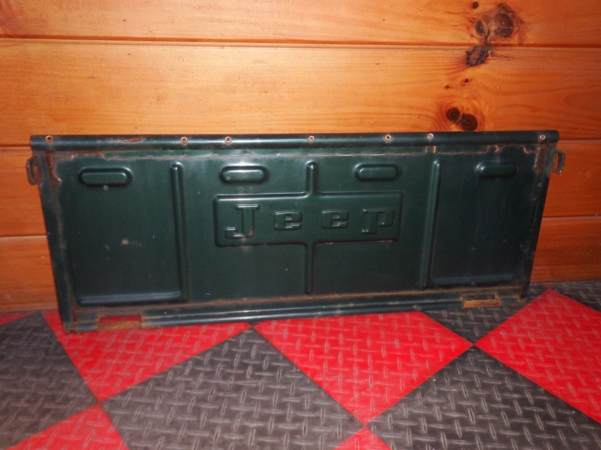 Jeep CJ5 OEM Original Tailgate 1973-1983 Great Shape Image