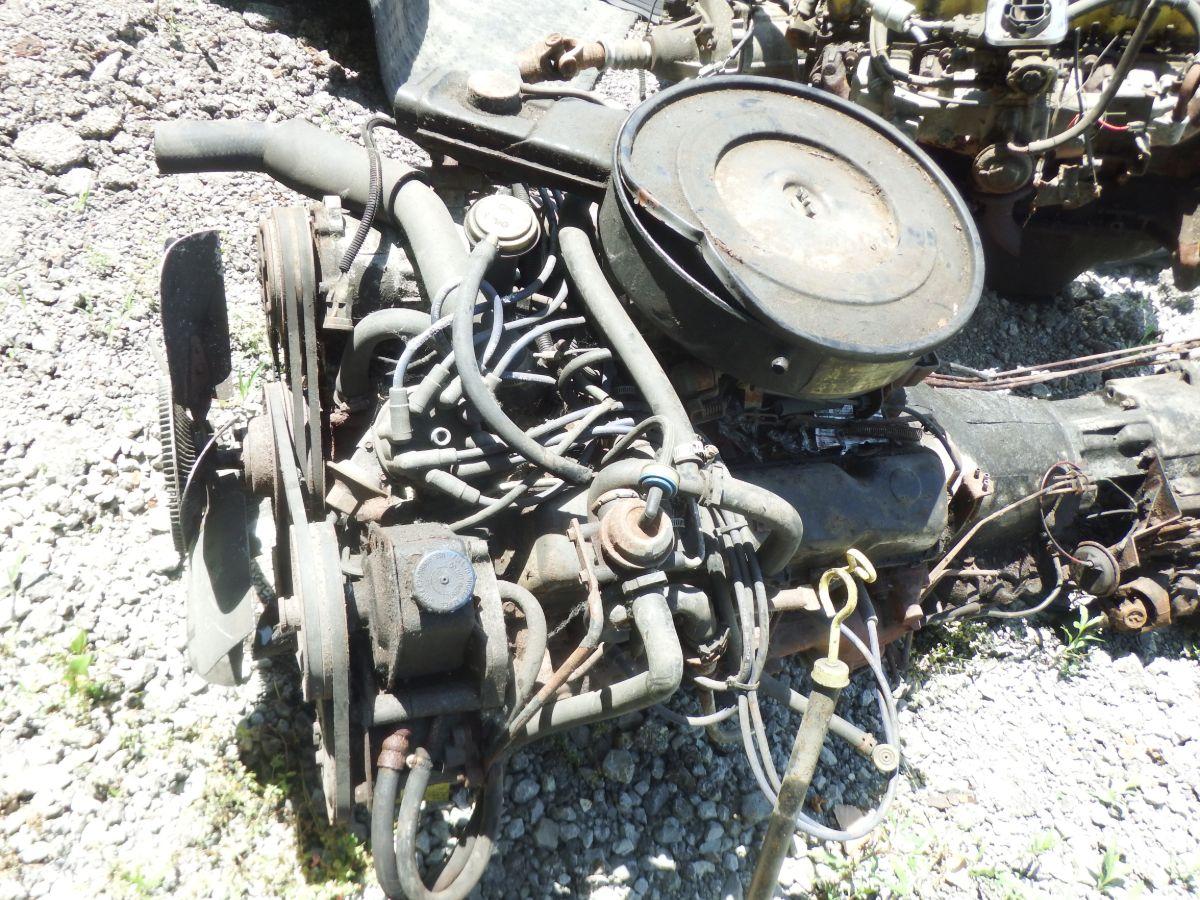 5.9 AMC 360 Engine, Auto Transmission Runs Good, Fits CJ, Truck, Wagon Image