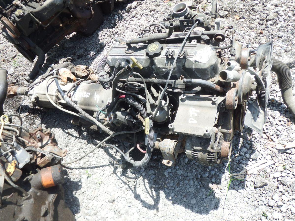99 TJ 2.5 Engine 30RH Auto Transmission 231J Transfer Case 158k miles Image