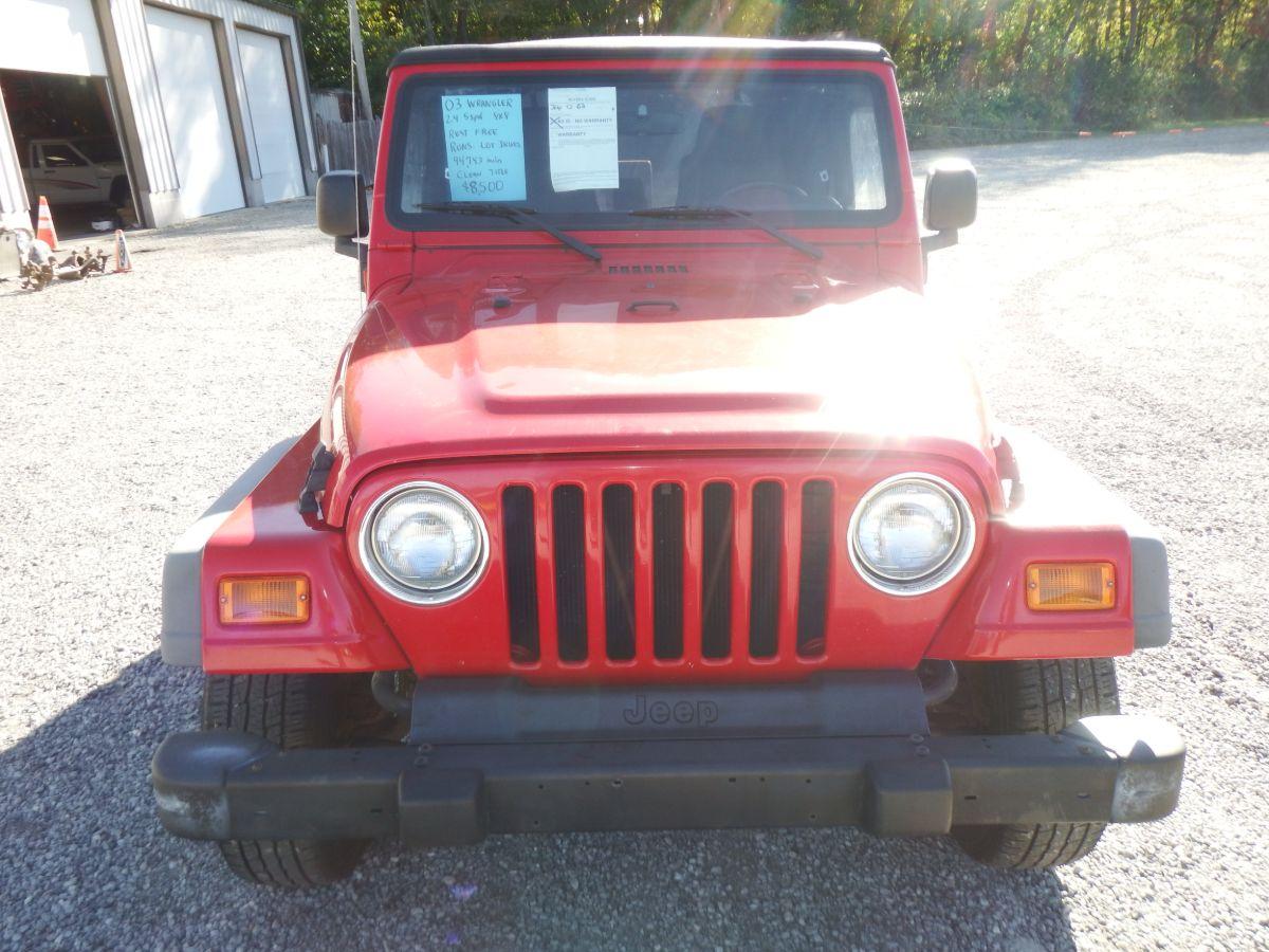 2003 Jeep Wrangler 4×4