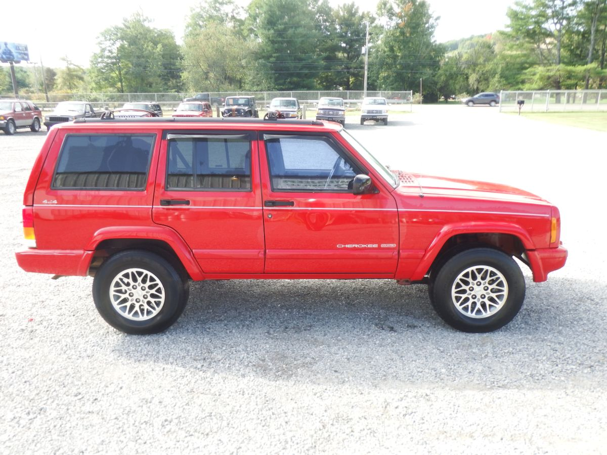 1997 Jeep Cherokee Country 4×4