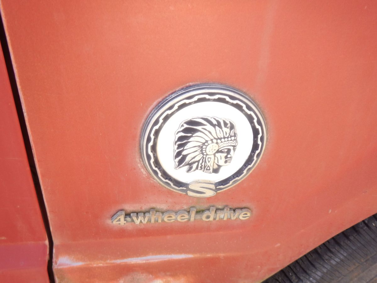 1979 JEEP CHEROKEE CHIEF PARTS ONLY DONOR 5.9 360