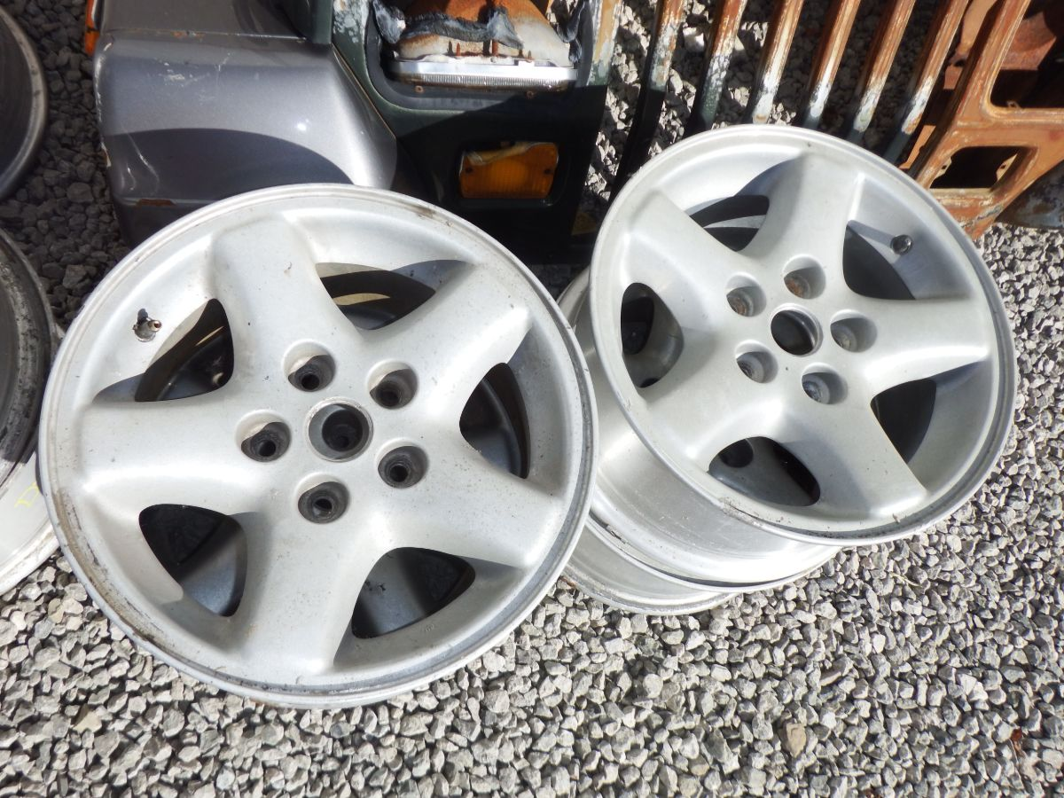 4 15x7 Ecco Rims Wheels 5 on 4.5 bp Image