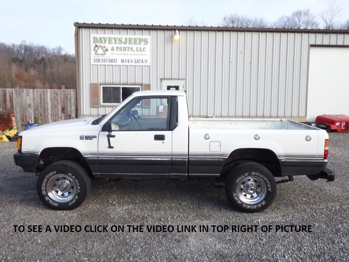 1987 Dodge Power Ram 50 Sport 4×4